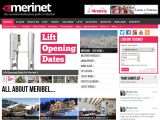Home page screenshot of Merinet