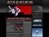 Home page screenshot of Moor and Mountain