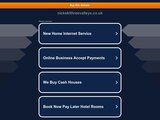 Home page screenshot of Nickski - La Tania