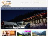 Home page screenshot of Residence La Cascata