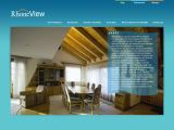Home page screenshot of Rhone View - Penthouse in Veysonnaz