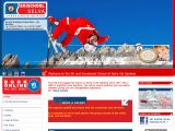 Home page screenshot of Ski and Snowboard School of Selva Val Gardena