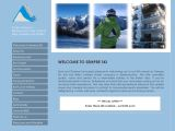 Home page screenshot of Sempre Ski