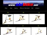 Home page screenshot of Skibike Ltd