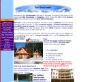 Home page screenshot of Ski Borovets