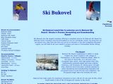 Home page screenshot of Ski Bukovel