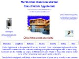 Home page screenshot of Chalet Sainte Appolonnie - Meribel