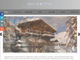 Home page screenshot of Ski Extra