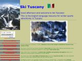 Home page screenshot of Ski Tuscany - Casa Marginetta