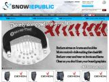 Home page screenshot of Snow Republic