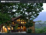 Home page screenshot of The Niseko Company