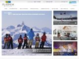 Home page screenshot of Whistler Platinum