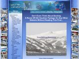 Home page screenshot of YourSkiVacations
