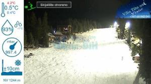 WebCam showing current Snow conditions in Jahorina, ©null