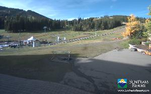 WebCam showing current Snow conditions in Sun Peaks, ©www.sunpeaksresort.com