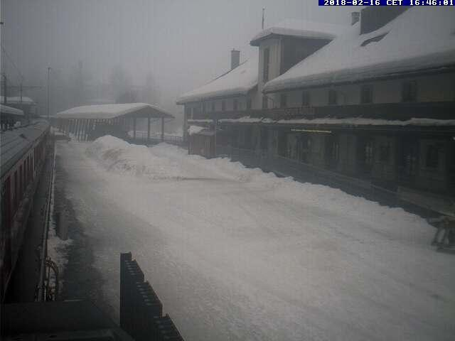 WebCam showing current Snow conditions in Bergün / Bravuogn