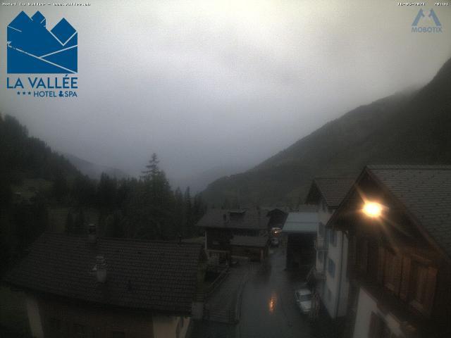 WebCam showing current Snow conditions in La Tzoumaz