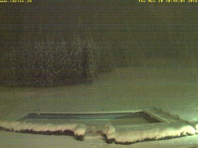 WebCam showing current Snow conditions in Morgins