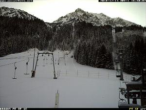 WebCam showing current Snow conditions in Nesselwang, ©Ausserfern