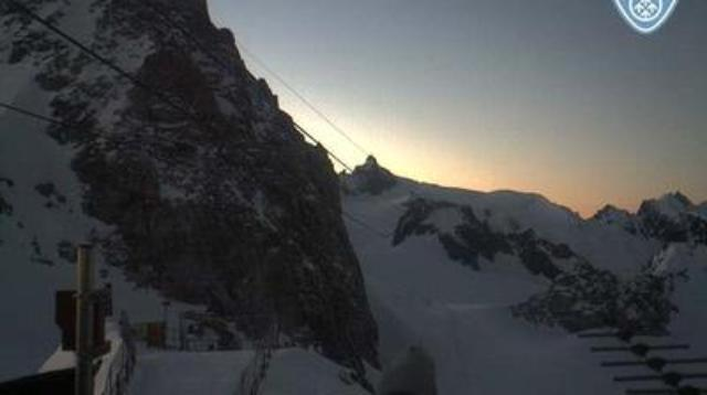 WebCam showing current Snow conditions in Chamonix