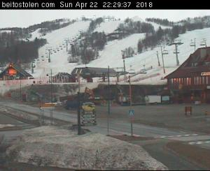 WebCam showing current Snow conditions in Beitostølen, ©Bergo Hotel